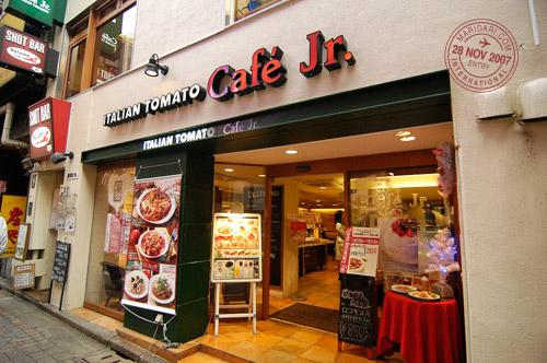Italian Tomato Cafe Jr., Shibuya