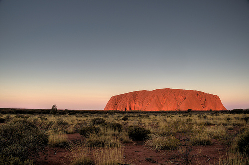 Uluru or Ayers Rock in Northern Territory, Central Australia photo by nosha
