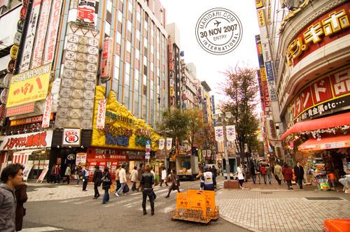 Kabukicho, Shinjuku, Tokyo, Japan