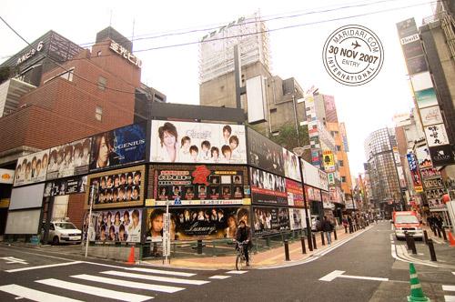 Male Escort Bars or Host Clubs at Kabukicho, Shinjuku, Tokyo, Japan