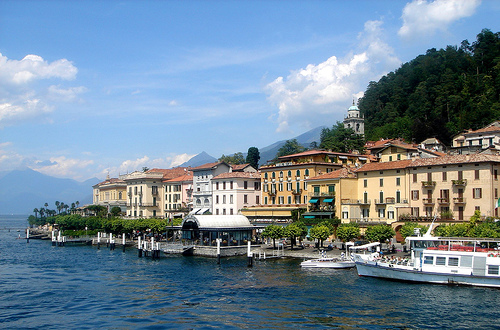 Villas at Bellagio, Lake Como, photo by Riccardo Tei
