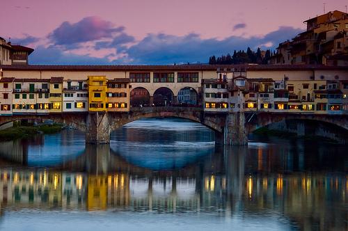 Ponte Vecchio, Florence, Italy, photo by Valeriano Della Longa