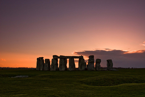 Stonehenge, Wiltshire, England, photo by René Ehrhardt