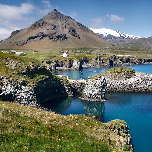 Arnarstapi, Snæfellsnes, Iceland, photo by Atli Harðarson