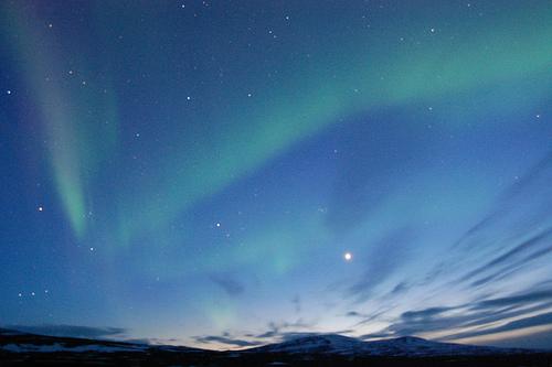 Aurora Borealis, Iceland, photo by deivis