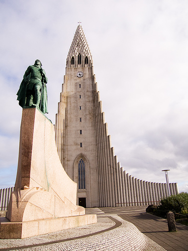 Hallgrimskirkja Church, Iceland, photo by David Blaikie