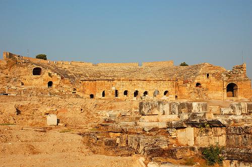 Hierapolis, Turkey,photo by Ming-yen Hsu