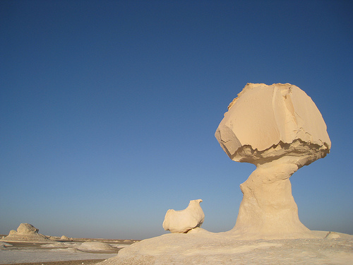 White Desert, Egypt, photo by Sara Goldsmith