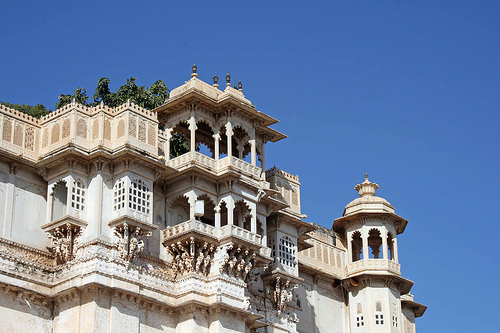 "City Palace in the Indian city of Udaipur, also known as the ""Venice of the East"",  photo by Tom Thai"