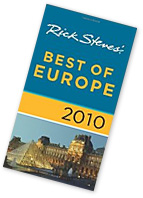 Rick Steves Best of Europe 2010 travel guide book