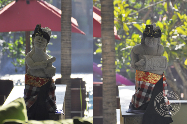 All Seasons Legian Bali hotel review - balinese statues
