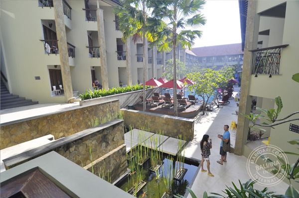Legian, Bali hotels - All Seasons - exterior view of swimming pool